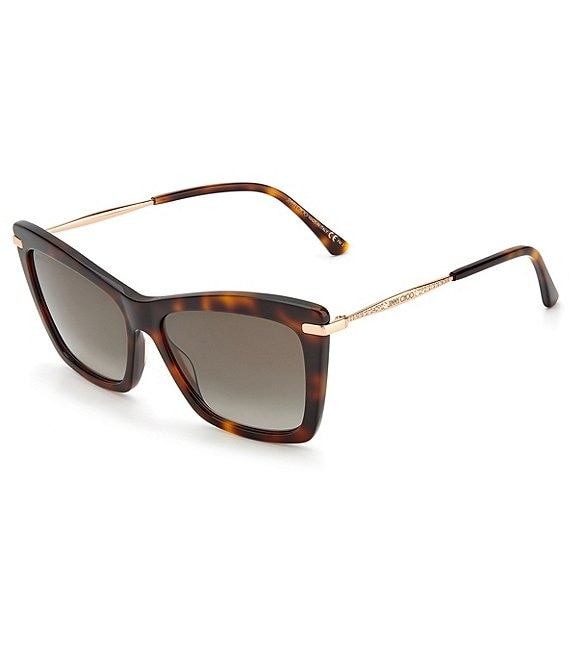 Color:Dark Havana - Image 1 - Sady Square 56mm Sunglasses