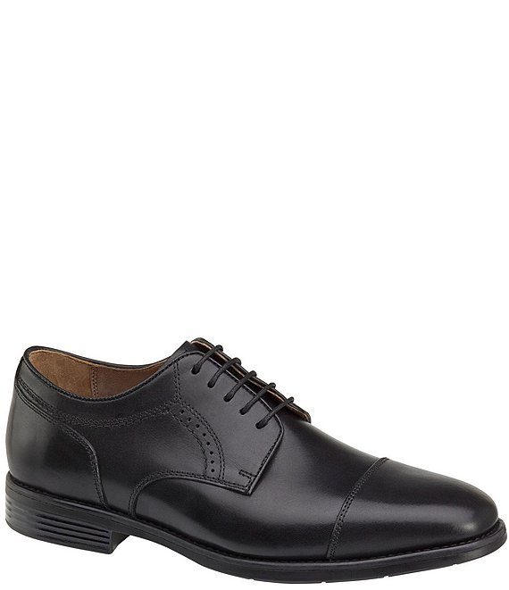 Color:Black - Image 1 - Men's Branning XC4 Cap Toe Waterproof Shoes