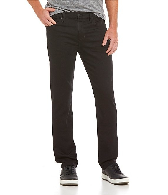 Color:Black - Image 1 - Straight Narrow Brixton Jeans