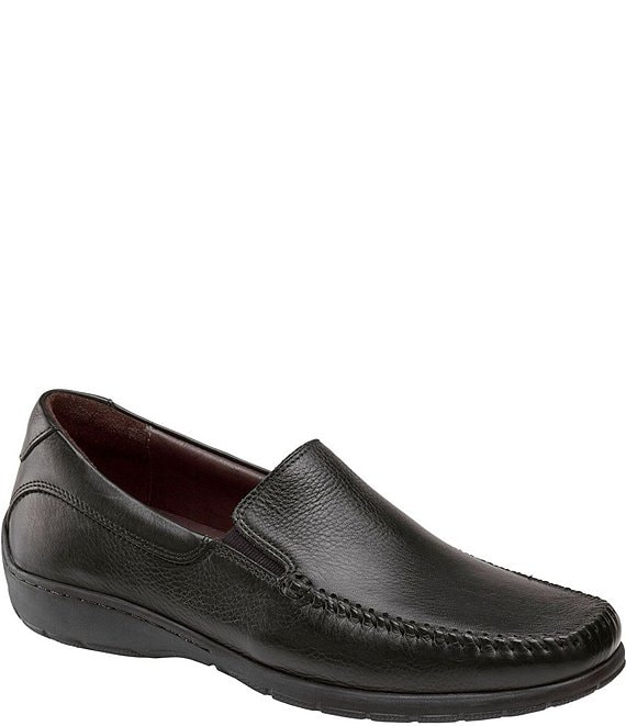 Color:Black - Image 1 - Men's Crawford Venetian Loafers