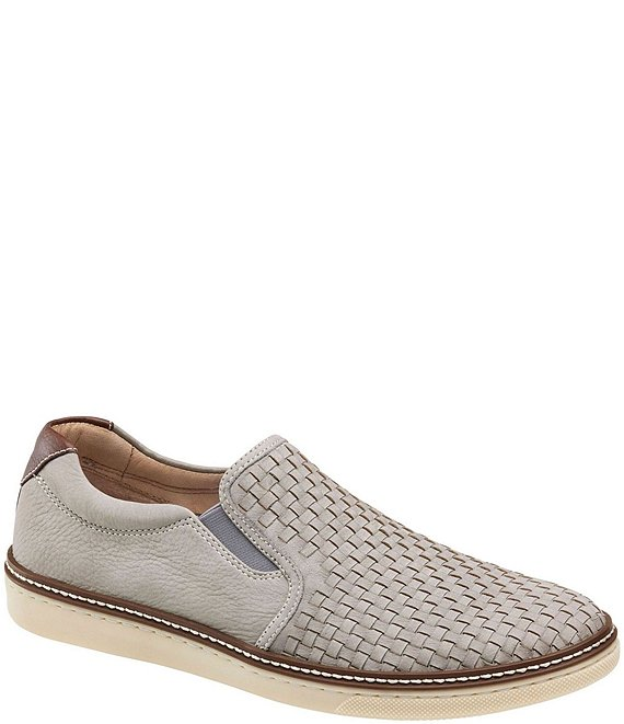 Johnston & Murphy Men's McGuffey Nubuck Wove Slip On
