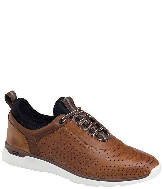 Color:Mahogany - Image 1 - Men's XC4 Prentiss U-Throat Waterproof Sneakers