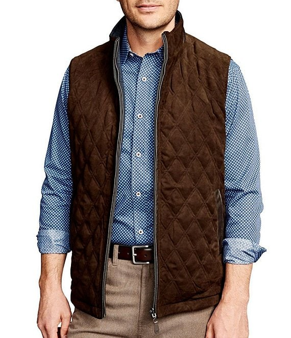 Johnston & Murphy Reversible Full-Zip Vest