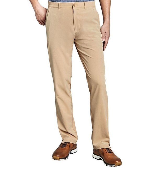 Color:Khaki - Image 1 - XC4 Stretch Golf Pants