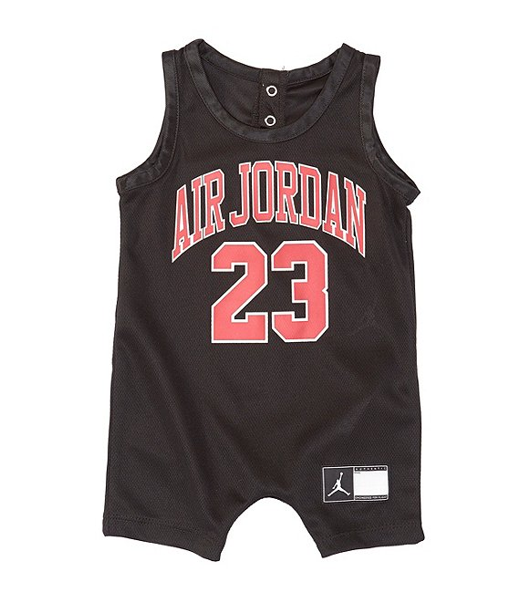 separation shoes 3679b 380f7 Jordan Baby Boys Newborn-9 Months Air Jordan Jersey Romper