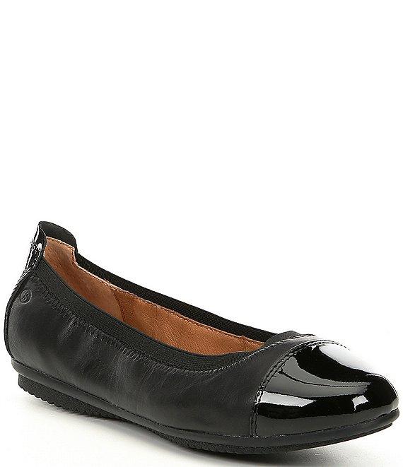 eine große Auswahl an Modellen Großhandelsverkauf attraktiver Stil Josef Seibel Pippa 07 Patent Cap-Toe Leather Flats