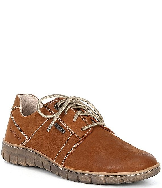 Color:Cognac - Image 1 - Steffi 59 Waterproof Leather Sneakers