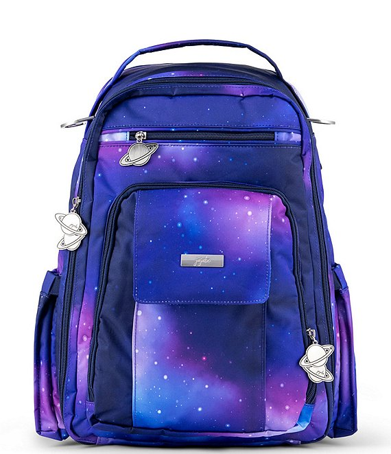 Color:Galaxy - Image 1 - Be Right Back Galaxy Diaper Bag