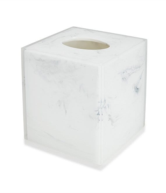 Kassatex Ducale Marble Tissue Holder