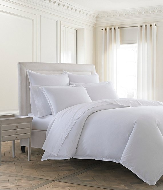 Kassatex Lorimer Washed Percale Duvet