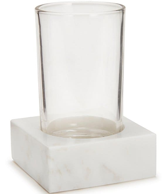 Color:White - Image 1 - Marmol Marble Tumbler