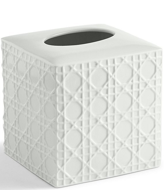 Kassatex Rattan Tissue Holder