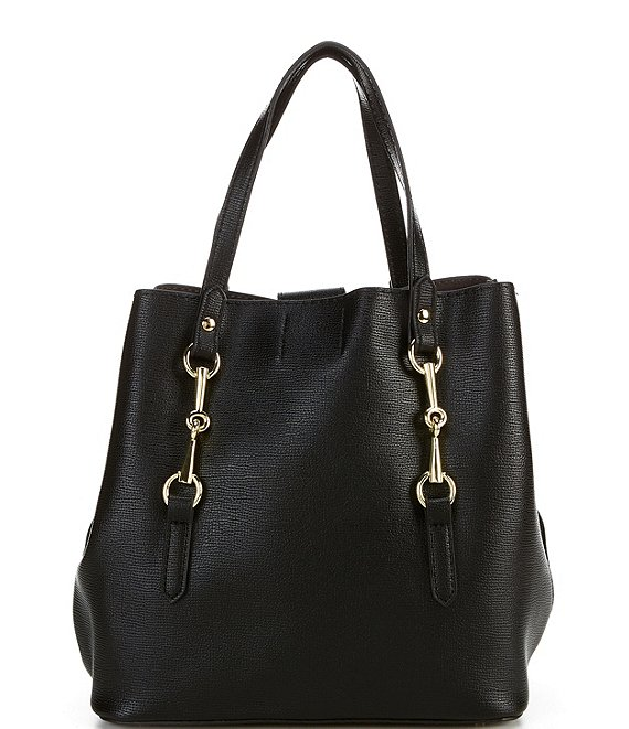 Color:Black - Image 1 - Nina Satchel Bag