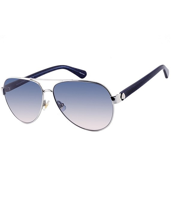 kate spade new york Geneva Aviator Sunglasses