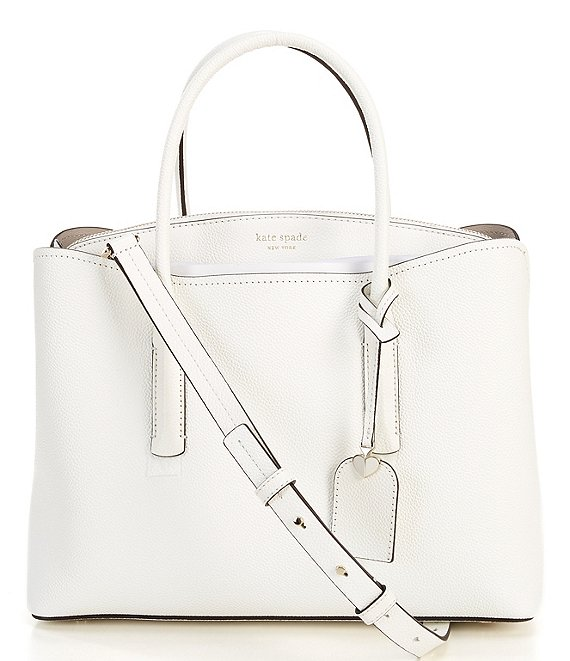 kate spade new york Margaux Leather Zip Large Double Handle Satchel Bag