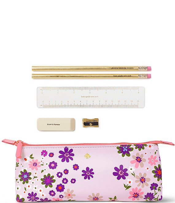 kate spade new york Pacific Petal Pencil Case