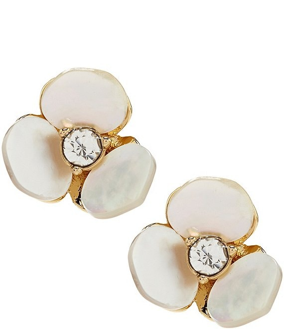 kate spade new york Pansy Stud Earrings