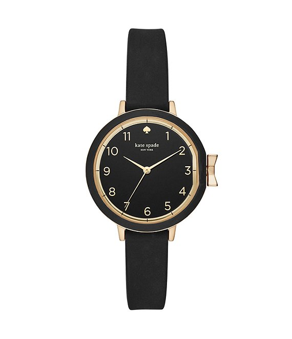 kate spade new york Park Row Analog Silicone-Strap Watch