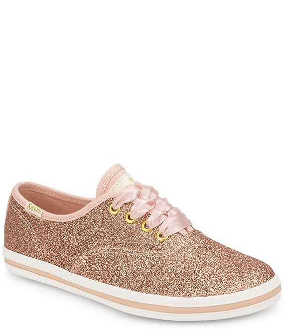8475897009a7 Keds for kate spade new york Girls  Glitter Sneakers