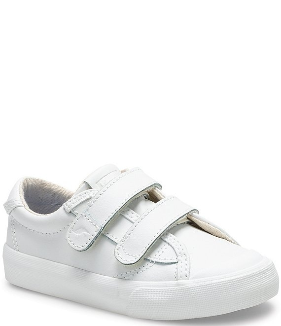 Color:White - Image 1 - Kids' Crew Kick 75 Leather Sneakers (Toddler)
