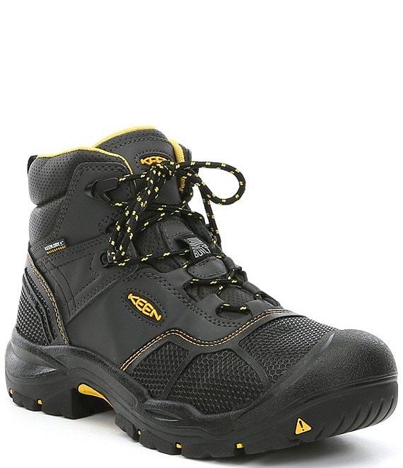 4b28a71f8c7 KEEN Men's Utility Logandale Waterproof Steel Toe Work Boots