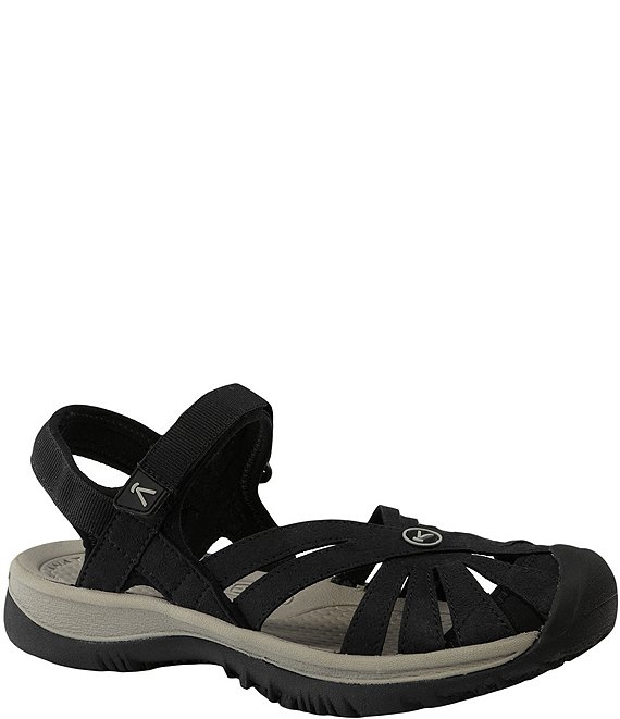 Color:Black/Neutral - Image 1 - Rose Waterproof Sandals
