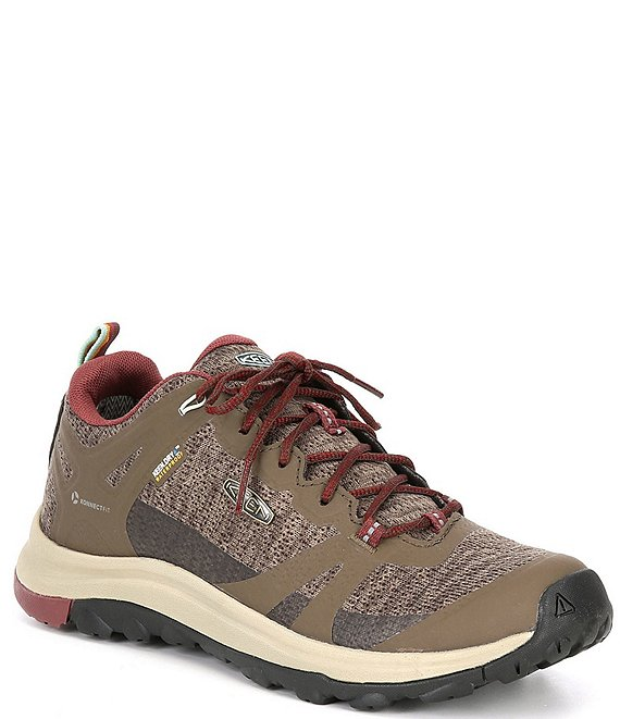 Color:Canteen/Andorra - Image 1 - Women's Terradora Waterproof Lace-Up Breathable Hiker Shoes