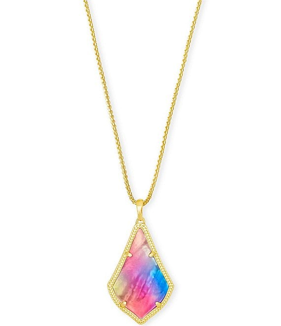 Color:Watercolor Illusion - Image 1 - Alex Pendant Necklace