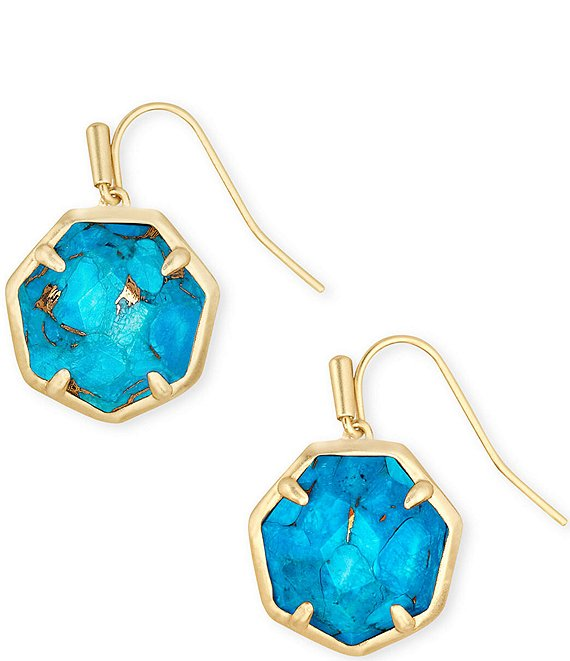 Kendra Scott Cynthia Gold Drop Earrings
