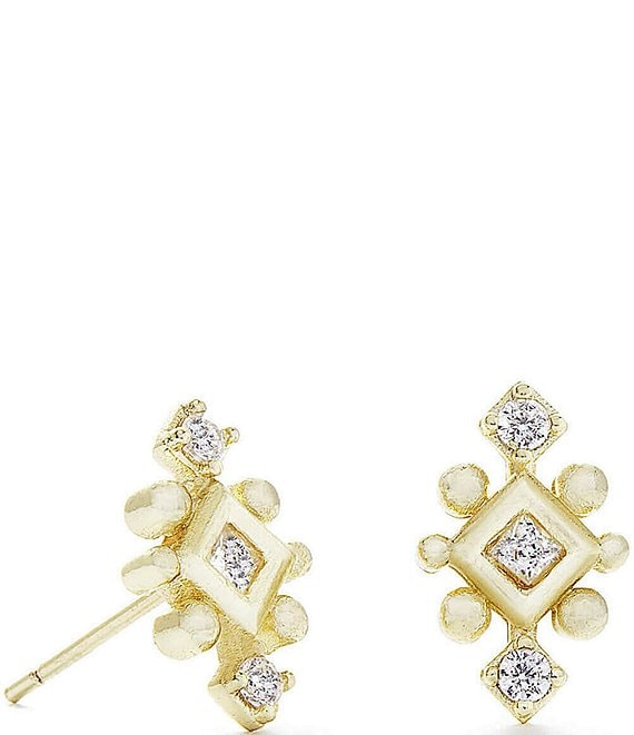 Color:Gold - Image 1 - Tilda Stud Earring