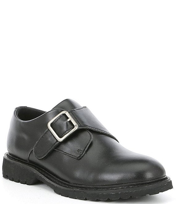 Kenneth Cole New York Boys' Leather Wing Monk