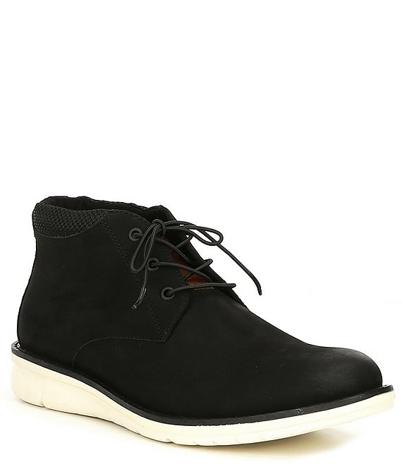 Color:Black - Image 1 - Men's Techno Chukka Boots