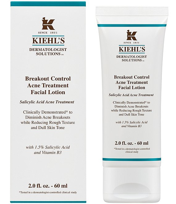 Kiehl's Since 1851 Breakout Control Acne Treatment Facial Lotion