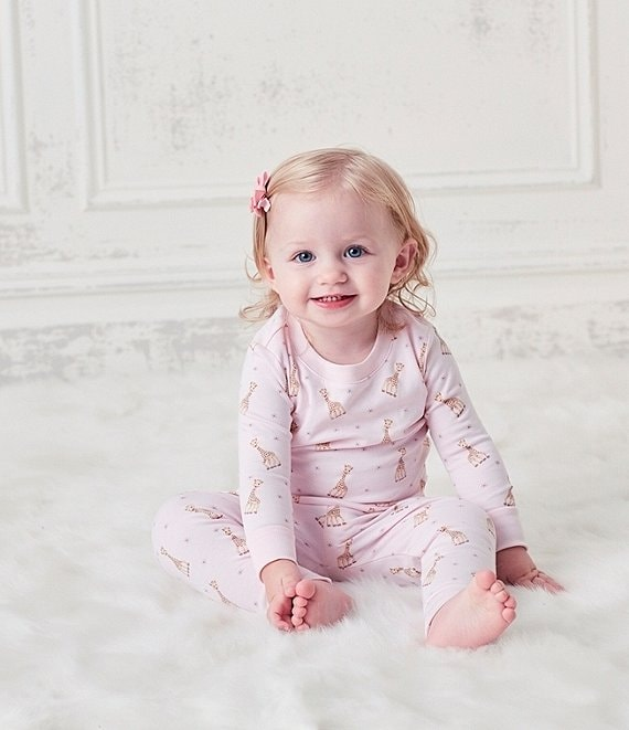 Hearts Kissy Kissy Baby Girls Pajamas Spring 2018 Print Short Pajamas