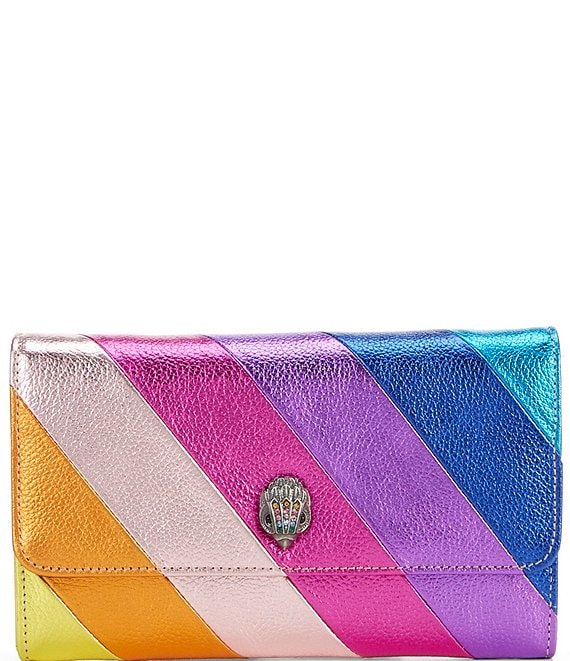 Kurt Geiger Kensington Rainbow Wallet Crossbody