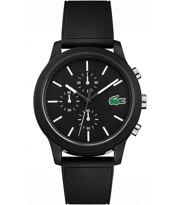 Lacoste 12.12 Chronograph Rubber Strap Watch