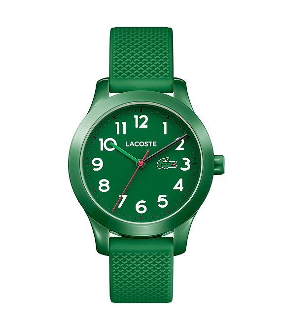 Color:Green - Image 1 - Kid's Green Silicone 12.12 Watch