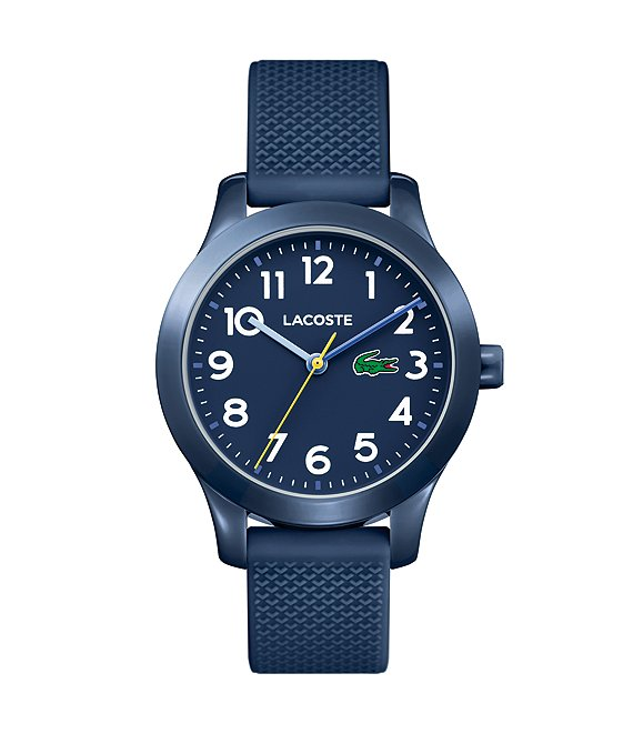 Color:Navy - Image 1 - Kid's Navy Silicone 12.12 Watch
