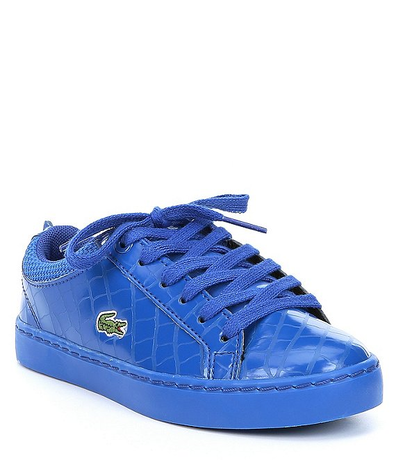 Color:Blue/Blue - Image 1 - Kids' Straightset Sneakers (Youth)