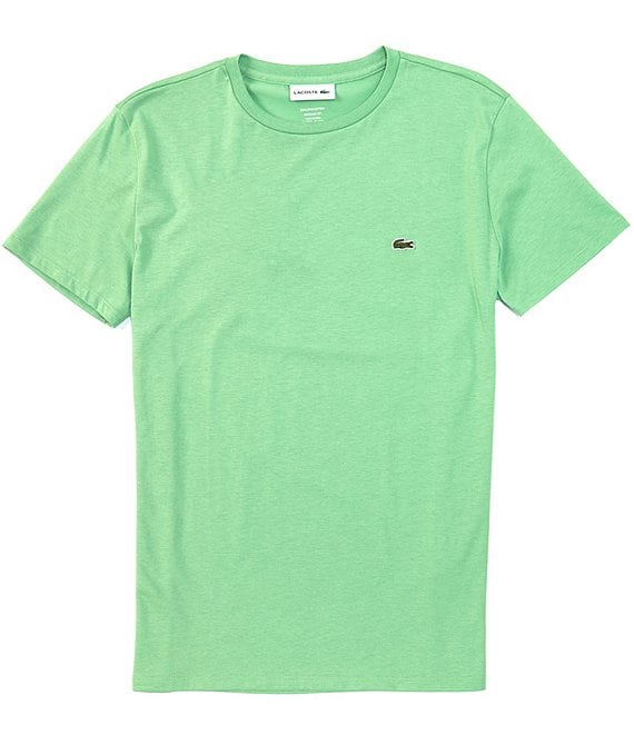 Color:New Green - Image 1 - Pima Cotton Jersey Short-Sleeve Tee