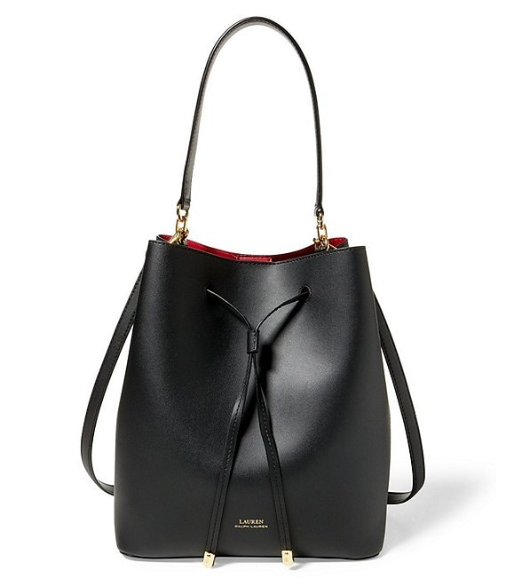 where can i buy new authentic low price sale Lauren Ralph Lauren Debby Drawstring Bucket Bag