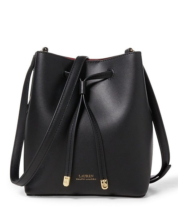 Color:Black/Crimson - Image 1 - Debby II Mini Drawstring Bag