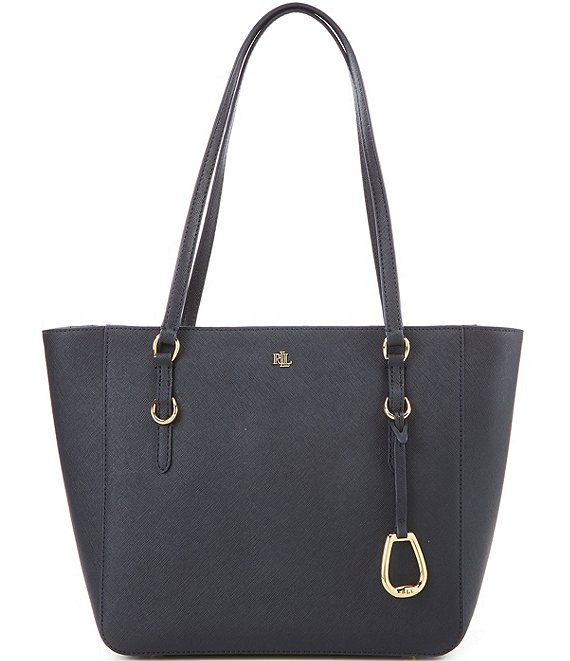 Color:Lauren Navy - Image 1 - Medium Shopper Tote Bag