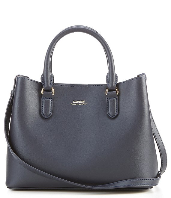 Color:Lauren Navy/Blue Mist - Image 1 - Mini Marcy Satchel Bag