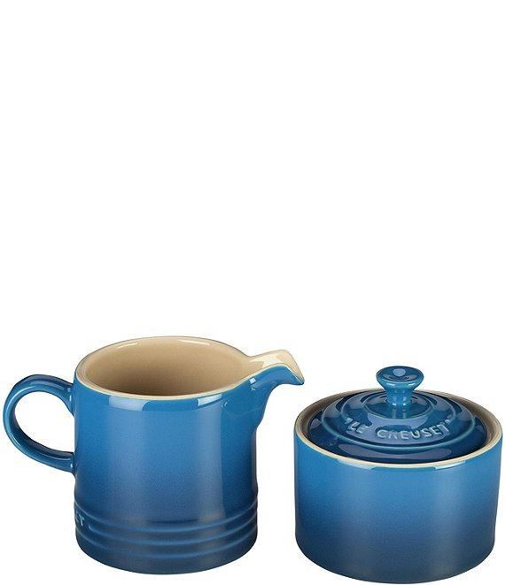 Color:Marseille - Image 1 - Cream & Sugar Set