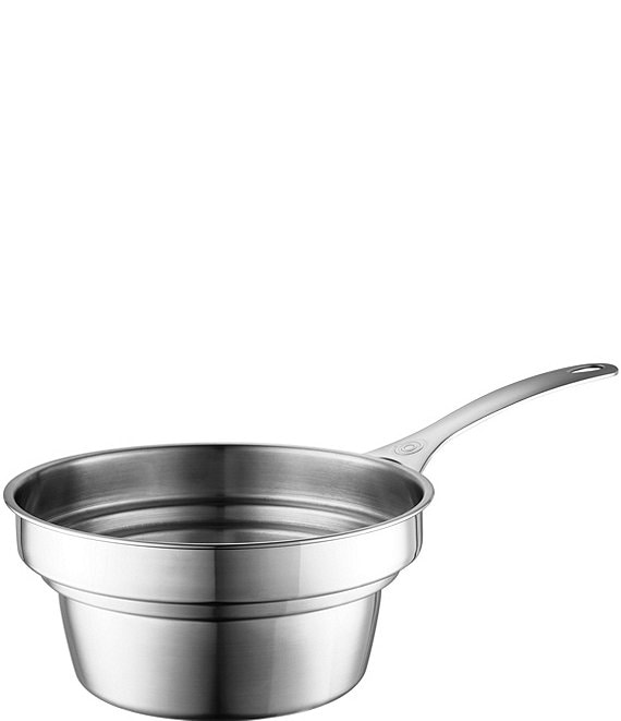 Le Creuset Stainless Steel Double Boiler Insert for 2 and 3 Quart Saucepans