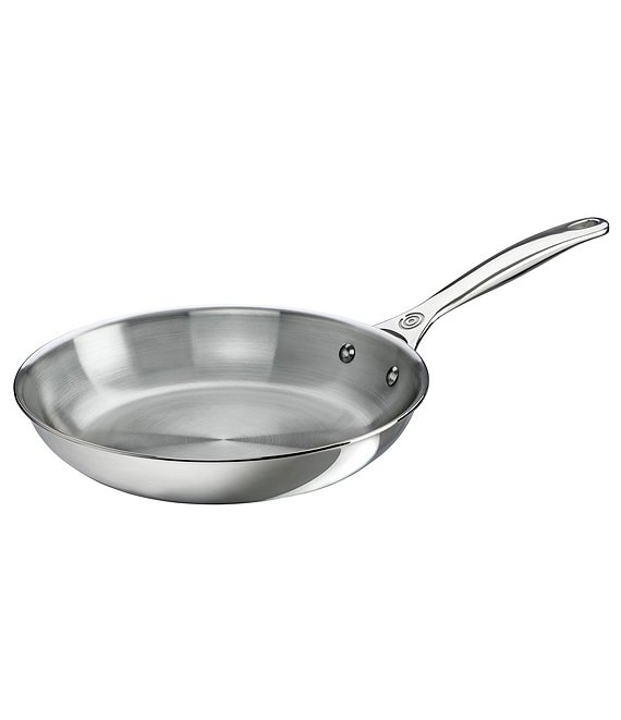 Le Creuset Tri-Ply Stainless Steel 10#double; Fry Pan