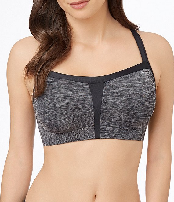 Le Mystere High-Impact Mesh Panel Convertible Sports Bra