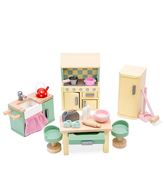 Color:Multi - Image 1 - Daisy Lane Kitchen Furniture Set