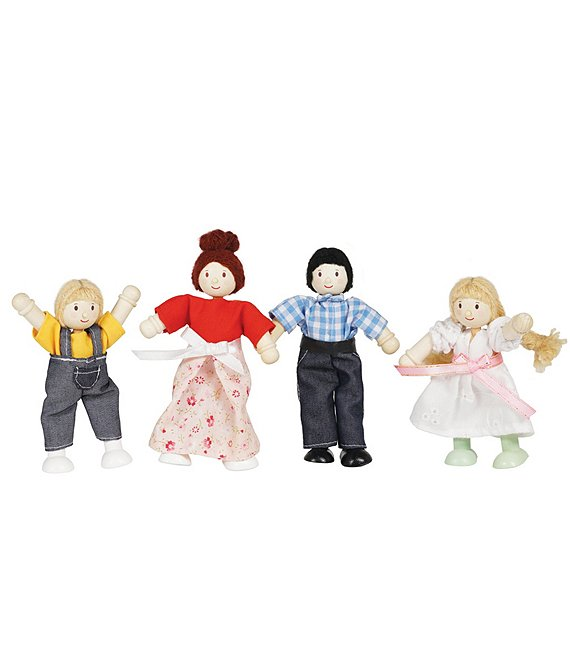 Color:Multi - Image 1 - Doll Family for Doll Houses
